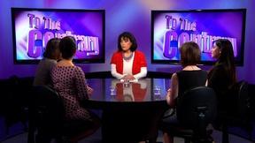 Image of Politics & Race; Colleges Tackle Assault; Elena Vanising