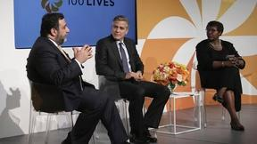Image of 100 Lives: Gwen Ifill talks to George Clooney
