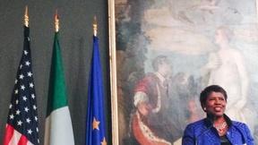 Image of Gwen's Take: Accepting the Urbino Press Award