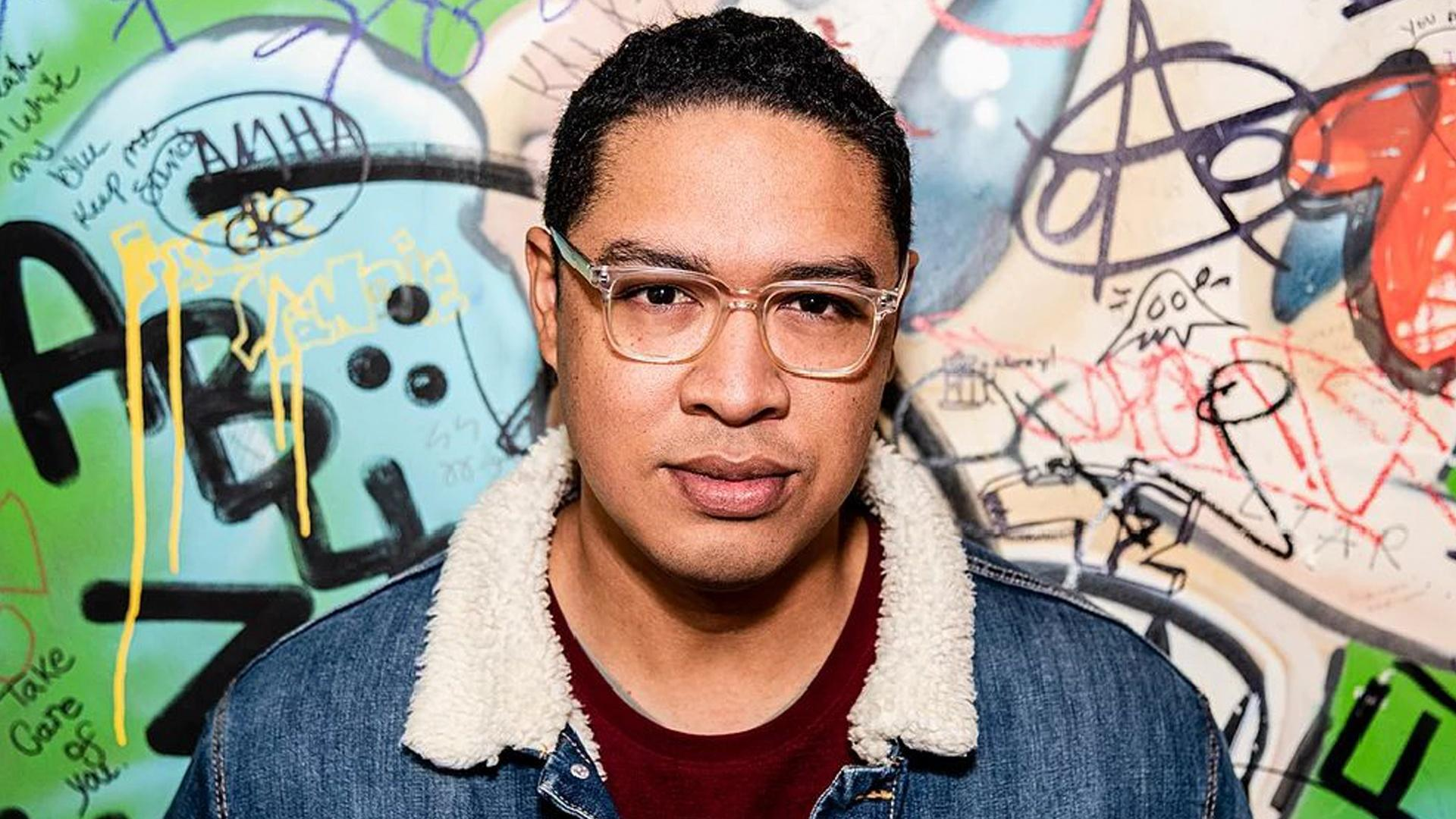 The host for the digital series, Shain Brenden