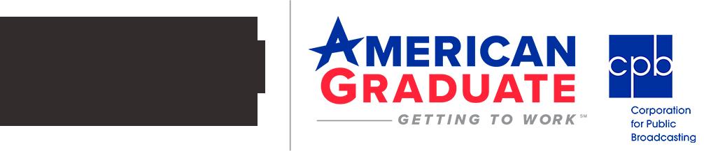 WFSU American Graduate Logos