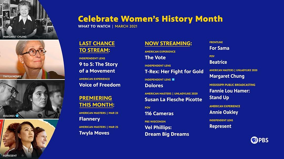 Celebrate Women's History Month | March 2021