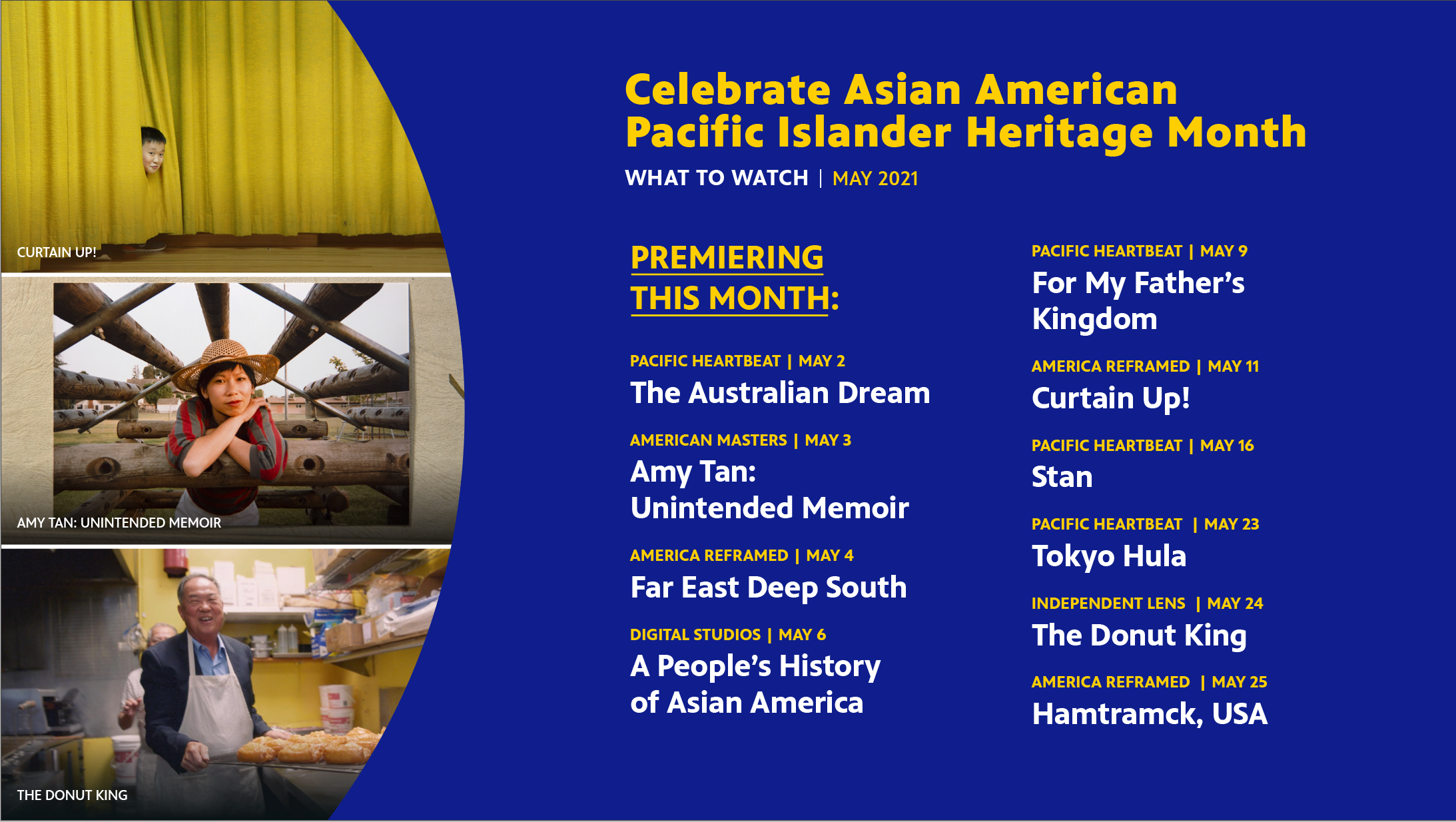 Celebrate Asian American Pacific Islander Heritage Month With These Films Premiering in May