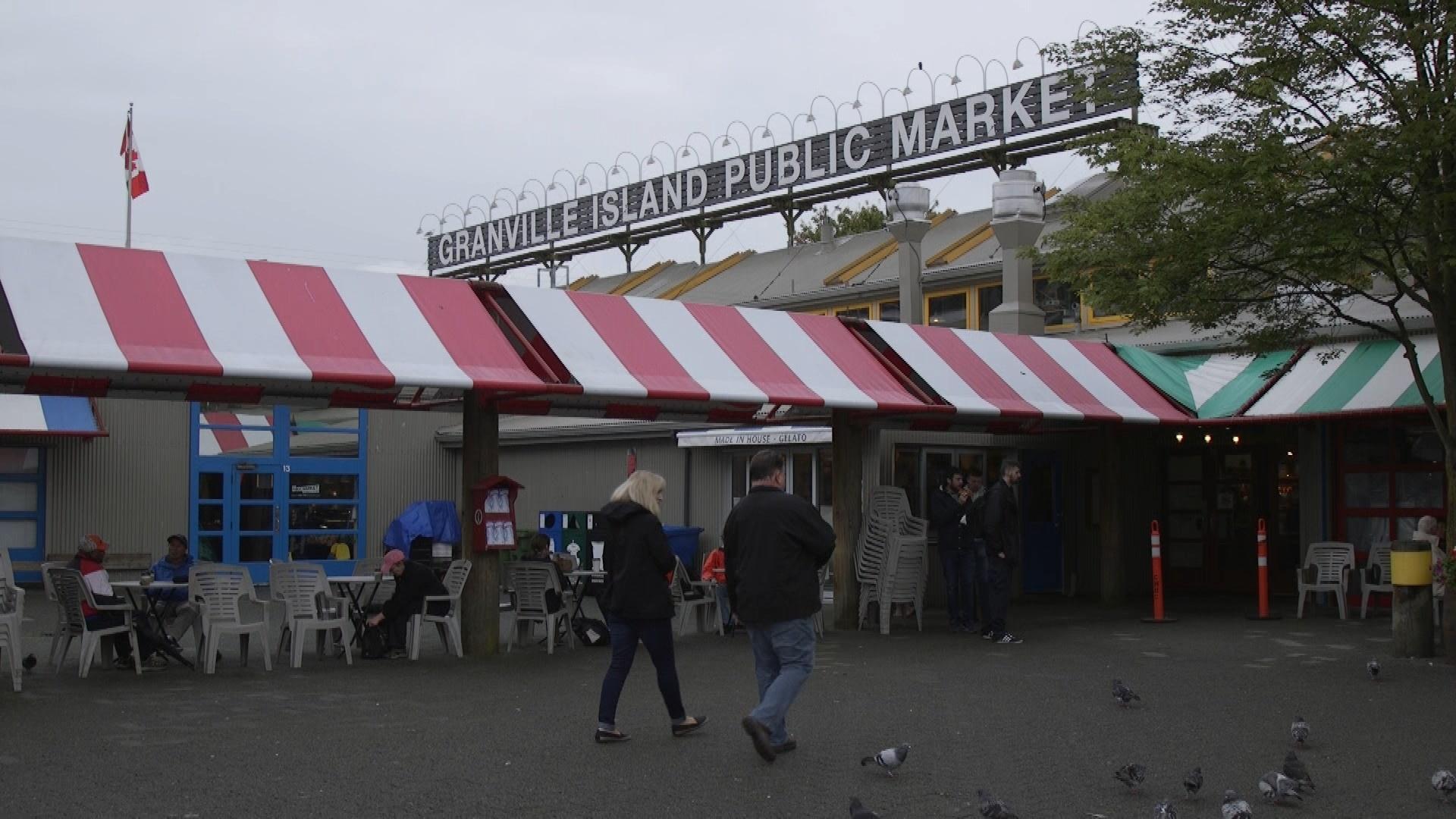The Granville Island Public Market.