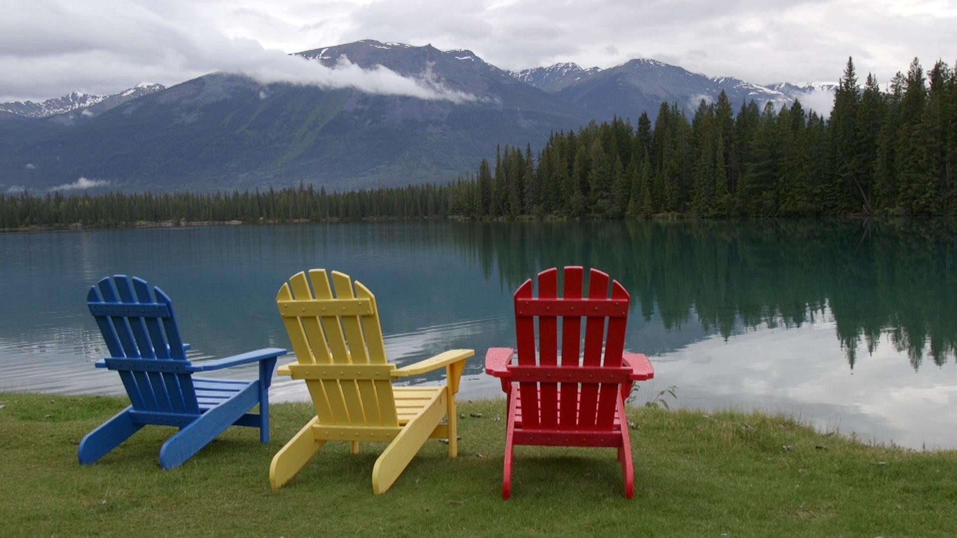 Lake at Jasper