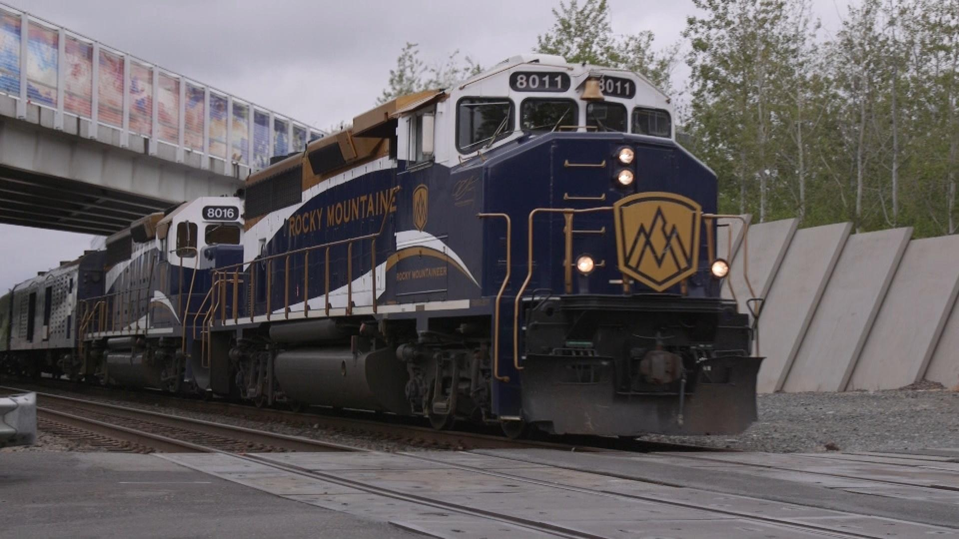 The Rocky Mountaineer engine