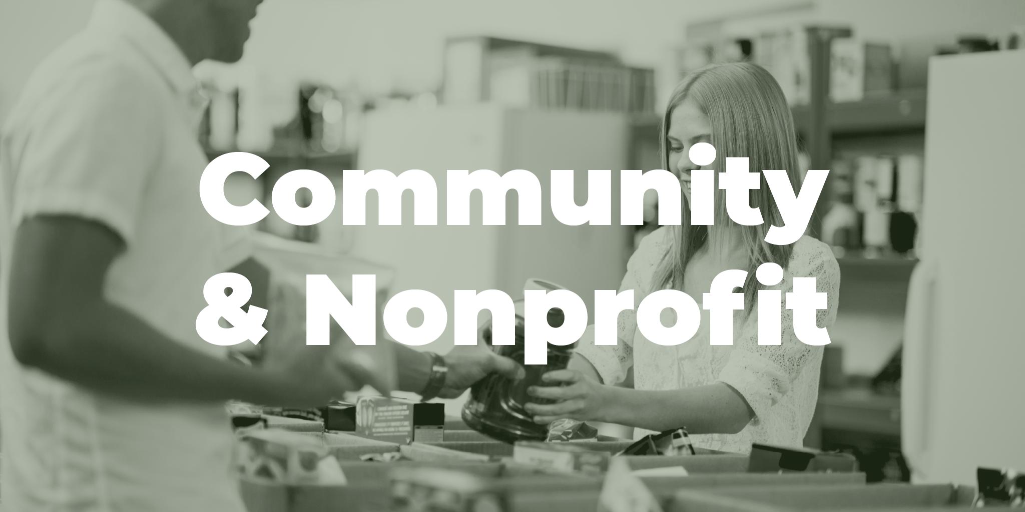 Community & Nonprofit