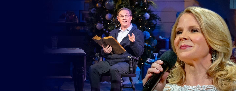 Richard Thomas and Kelli O'Hara perform with Christmas with The Tabernacle Choir