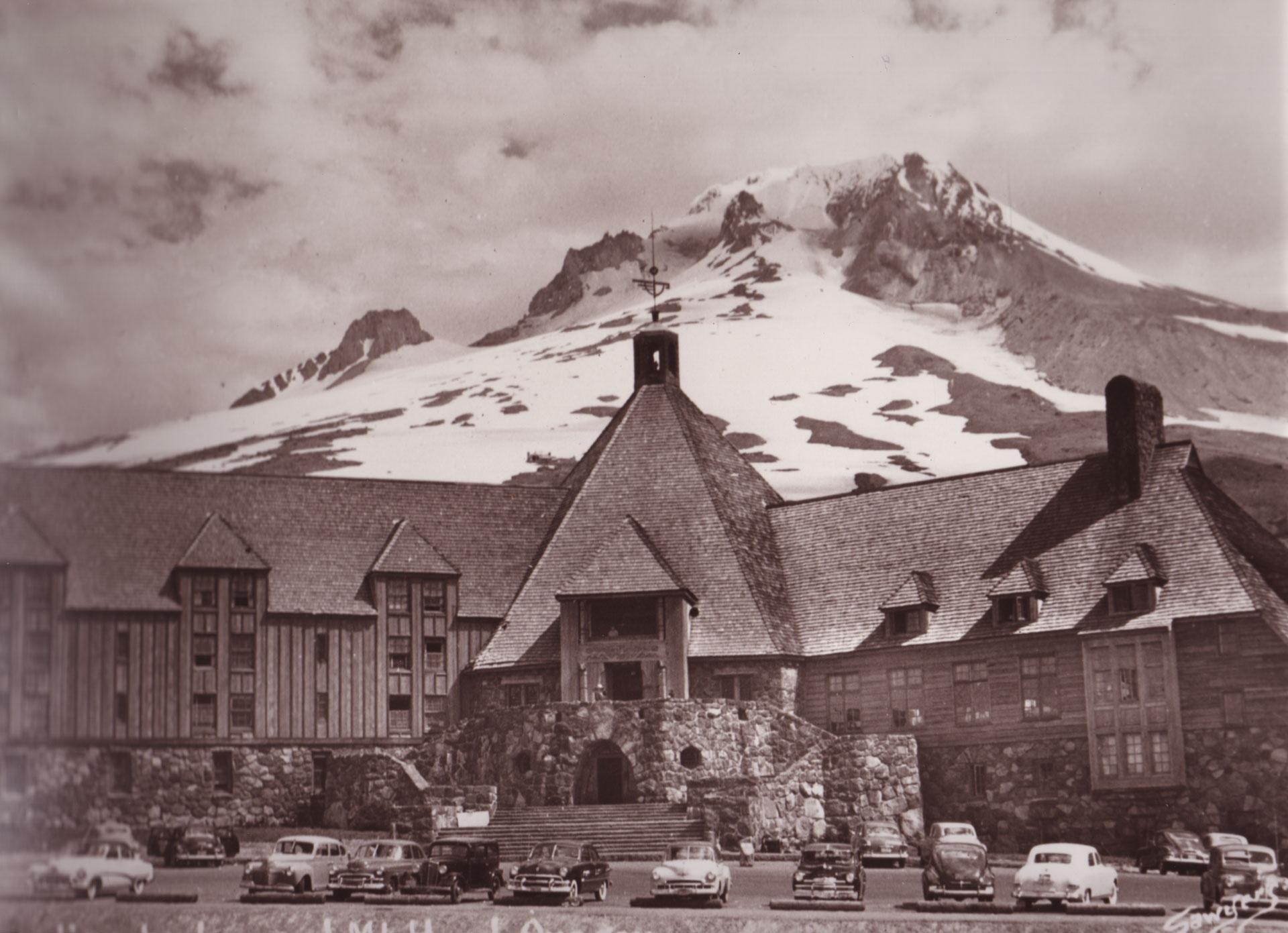TIMBERLINE LODGE, CREATED BETWEEN 1936 AND 1938