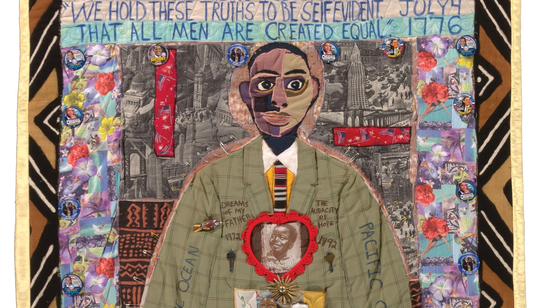 Michael A. Cummings, A Young Obama quilt