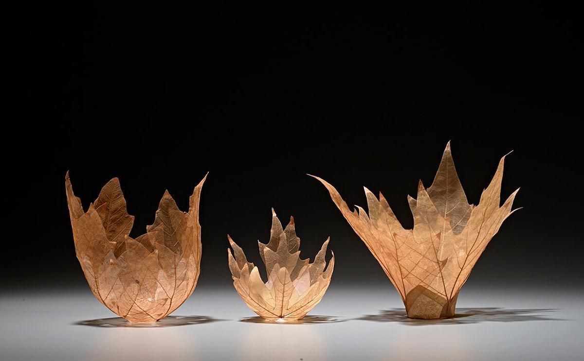 VISIONARIES Kay Sekimachi Leaf Bowls