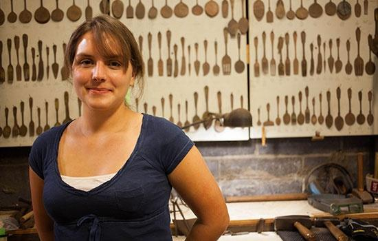 Chloe Darke silversmith