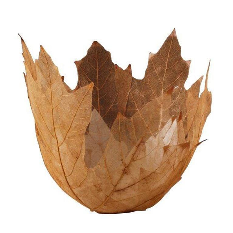 Kay Sekimachi leaf bowl visionaries