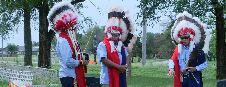 Cheyenne & Arapaho Peace Chiefs, Harvey Pratt, Gordon Yellowman Sr, Larry Roman Nose