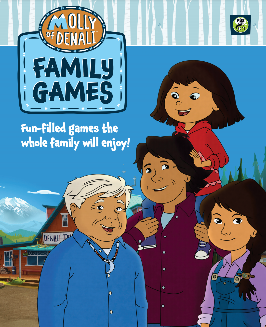 Click here to view and download the Molly of Denali Family Games Guide