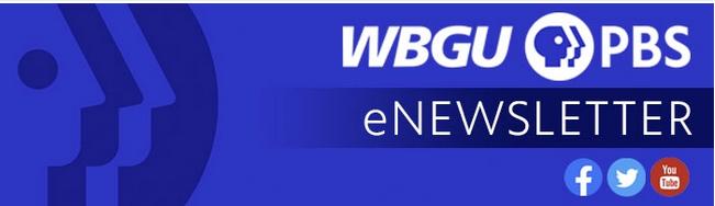 WBGU PBS eNewsletter