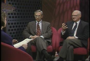 Marcia Franklin interviews state senators Laird Noh and Bruce Sweeney