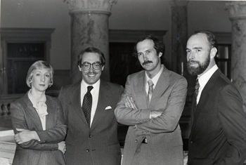 Jean McNeil, Marc Johnson, Bruce Reichert, and Gary Richardson in 1984