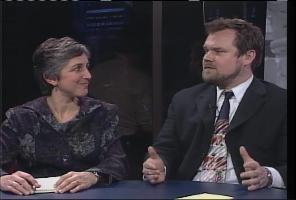 Political reporters Betsy Russell and Greg Hahn
