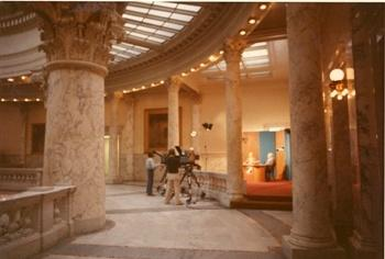 For several years in the 1980's the set was on the fourth floor of the Capitol