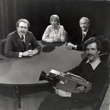 Marc Johnson, Jean McNeil, Eric Malone, and Peter Morrill in the early 1980's