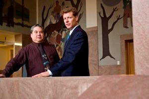 Ricardo Ochoa and Jim Peck in 2007
