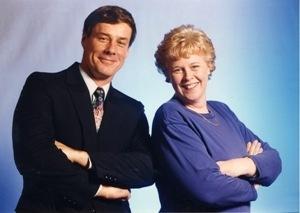 John Crancer and Joan Cartan-Hansen were co-hosts in 1999