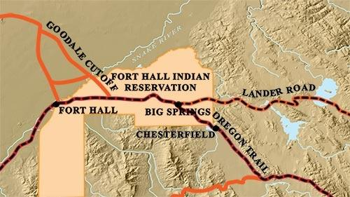 Oregon Trail with Lander Road, Goodale Cutoff & Ft. Hall Reservation