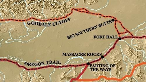 Oregon Trail and Goodale Cutoff