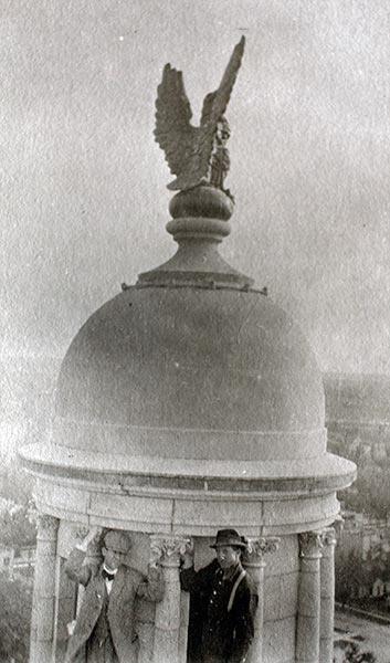 Top of the Capitol Rotunda