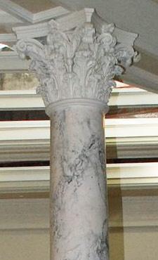 Scagliola Column in the Idaho Capitol