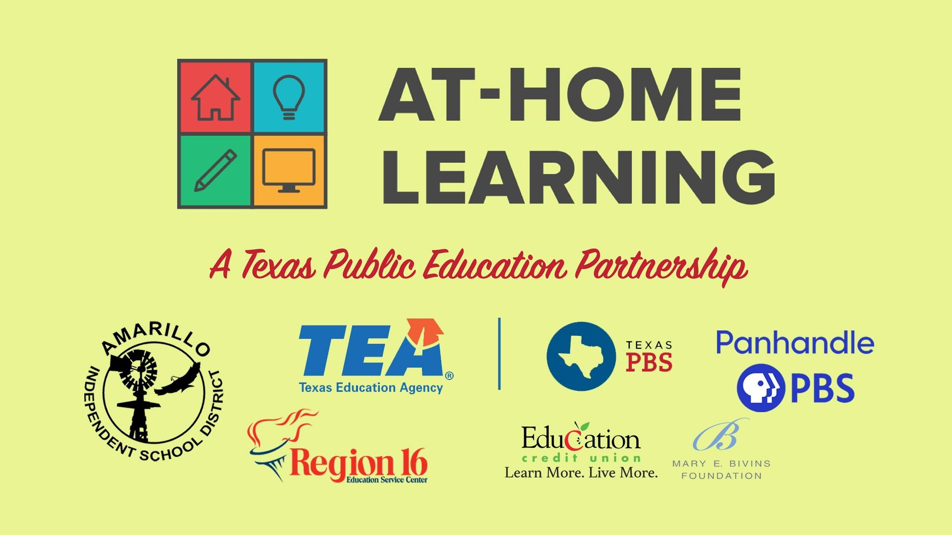 At Home Learning Resources from Panhandle PBS