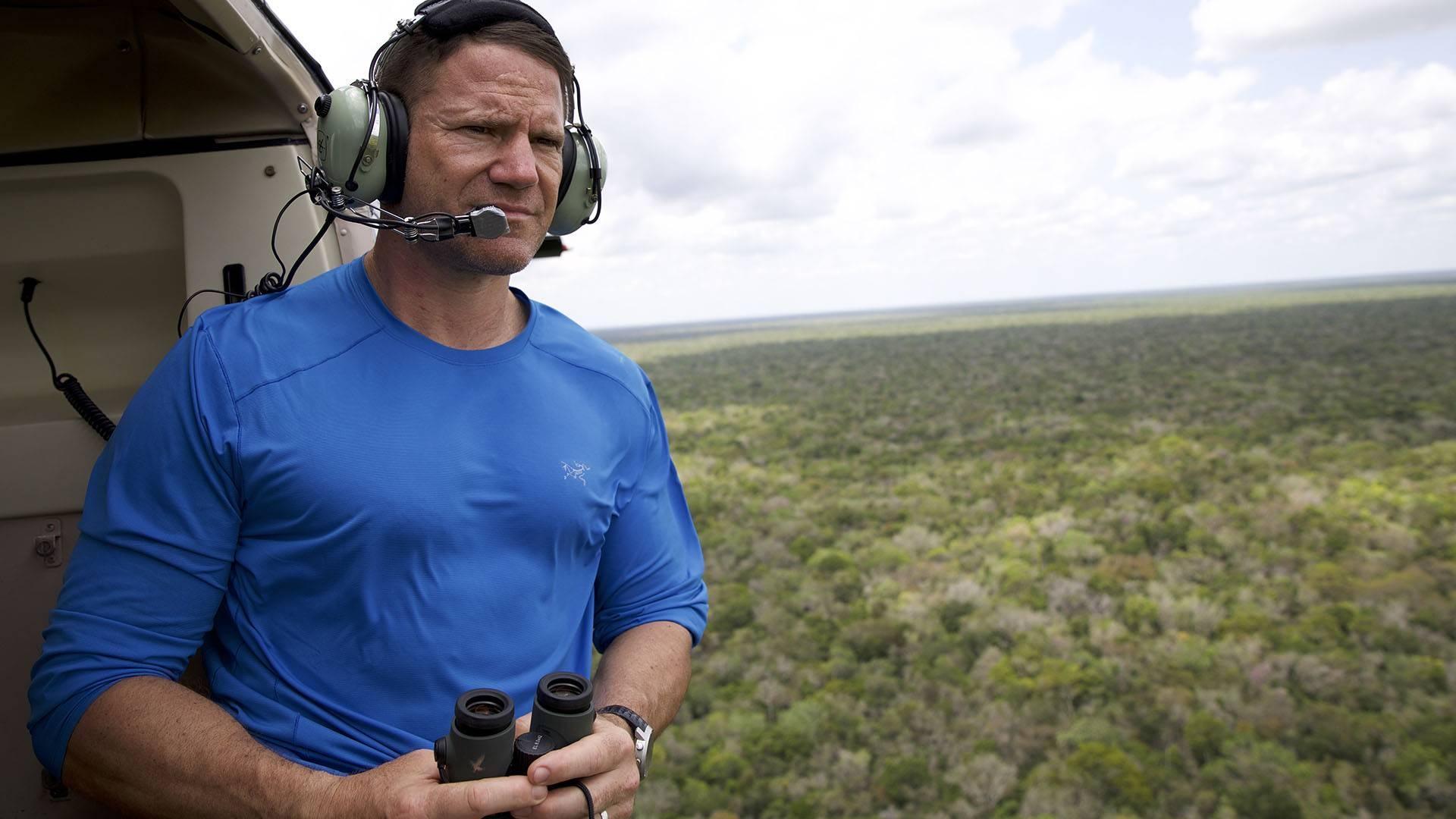 Adventurer Steve Backshall tackles undiscovered gems