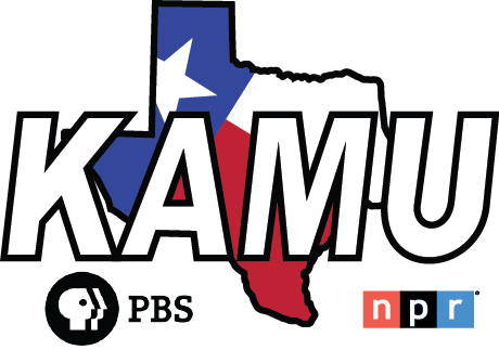KAMU logo with PBS and NPR