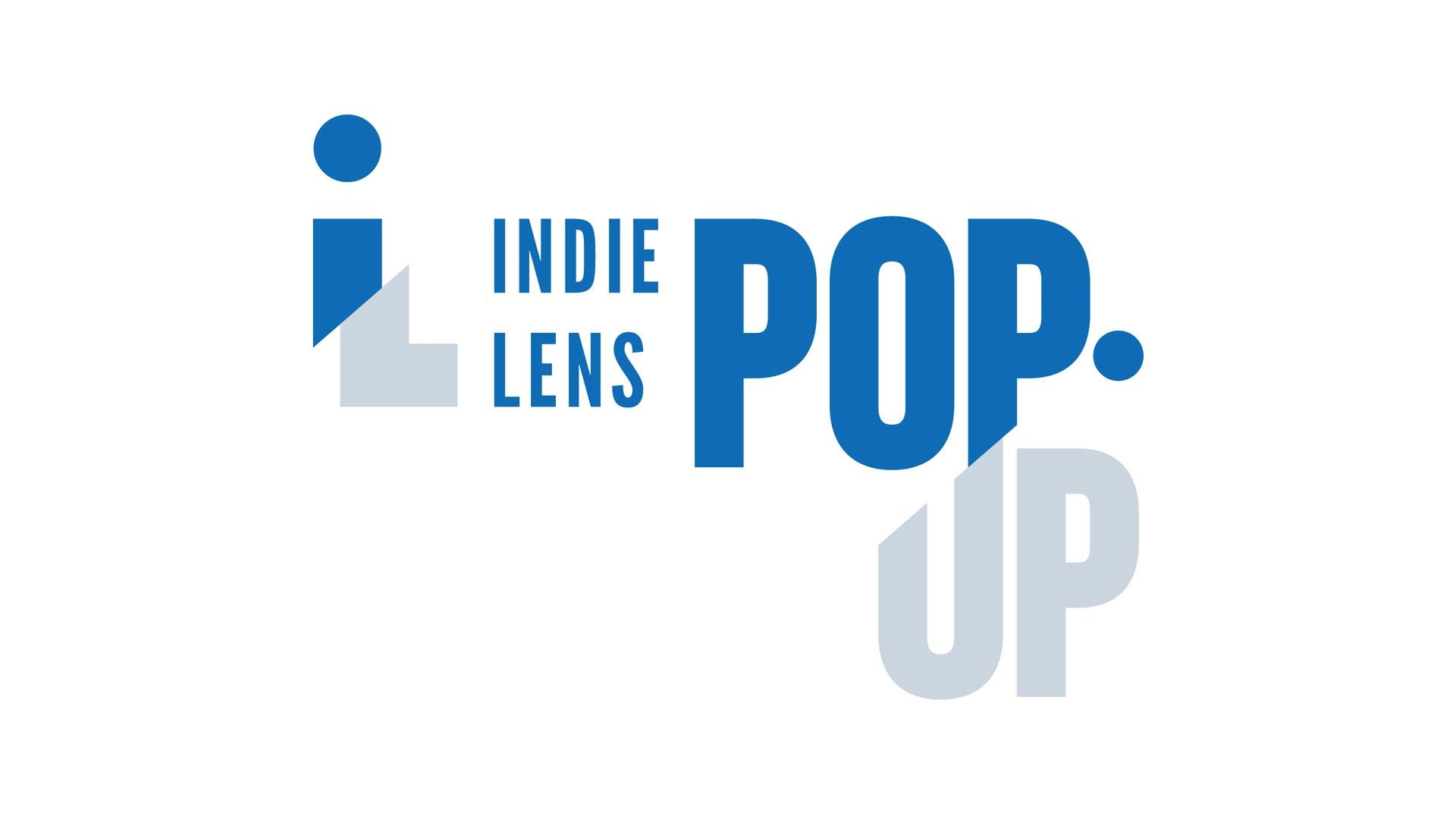 Indie Lens Pop-Up written on plain white background