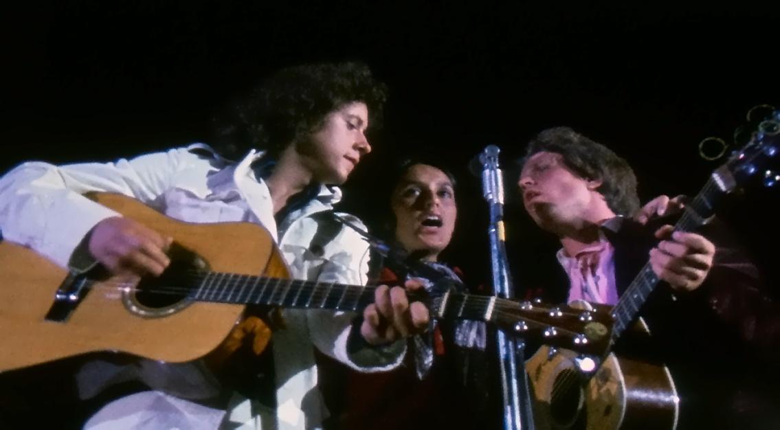 Arlo Guthrie, Joan Baez and Country Joe McDonald