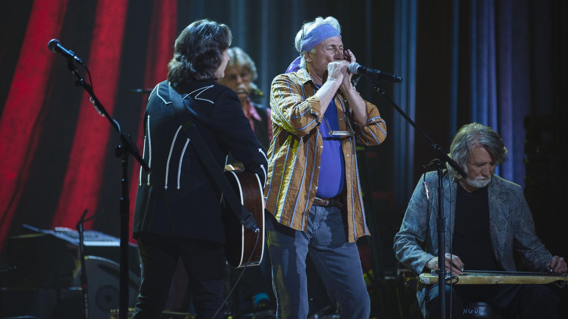 Jeff Hanna, Bob Carpenter, Jimmie Fadden, John McEuen: the original core group of Nitty Gritty Dirt Band doing there thing as they have for an unprecedented 50 Years!