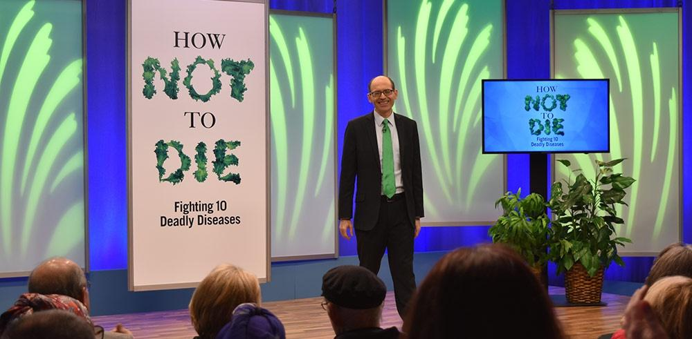 How Not to Die Fighting 10 deadly diseases set with Dr. Michael Greger