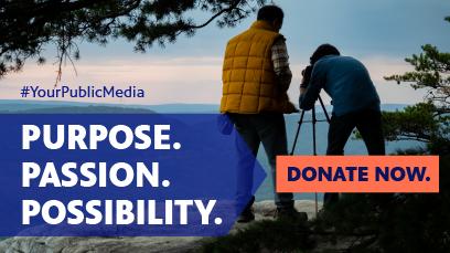 Purpose. Passion. Possibility. Donate Now.