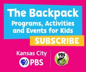 The Backpack: Programs, Activities and Events for Kids - SUBSCRIBE - Kansas City PBS Kids logo