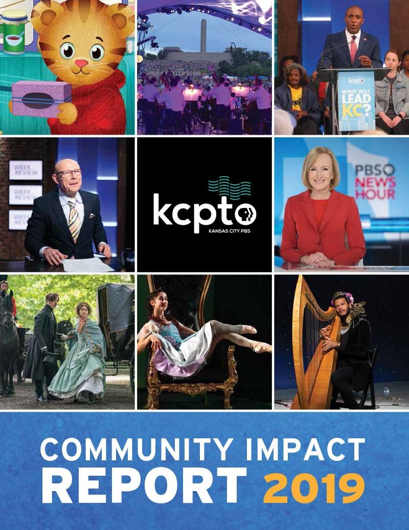 KCPT Community Impact Report Cover