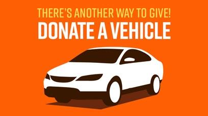 There's another way to give! Donate a vehicle - car