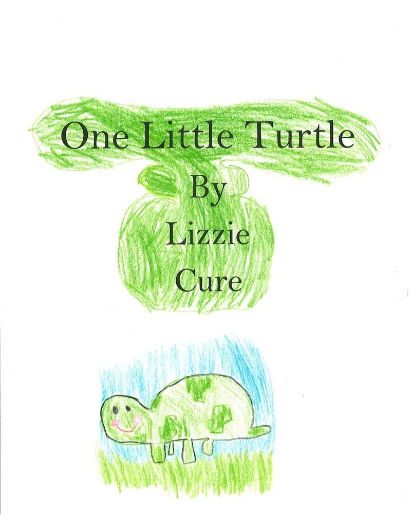 One Little Turtle by Elizabeth Cure