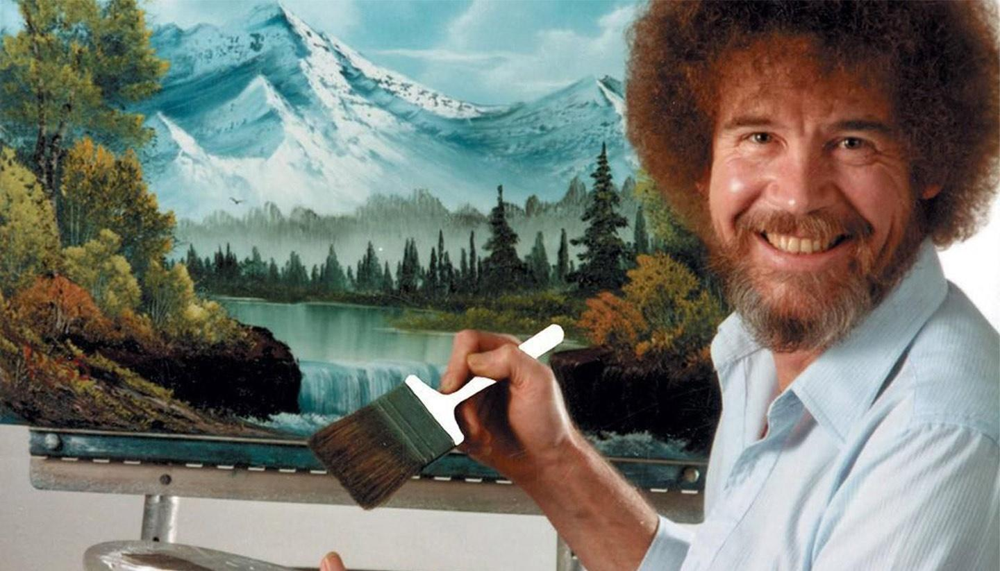 October is Bob Ross Month