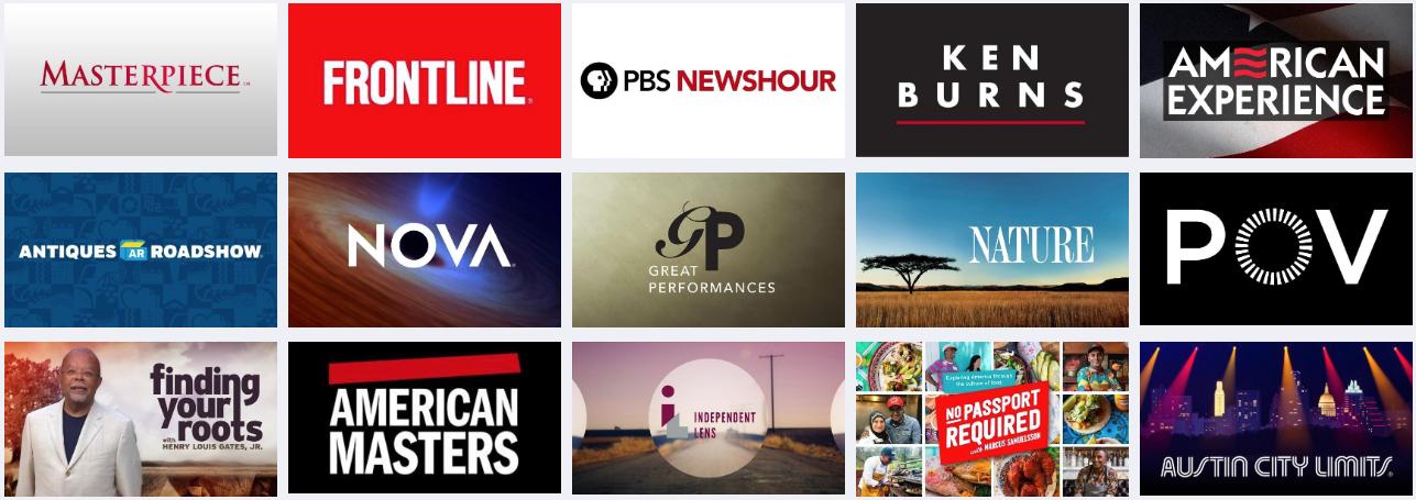 Stream your favorite programs