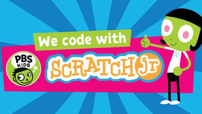 We code with Scratch jr