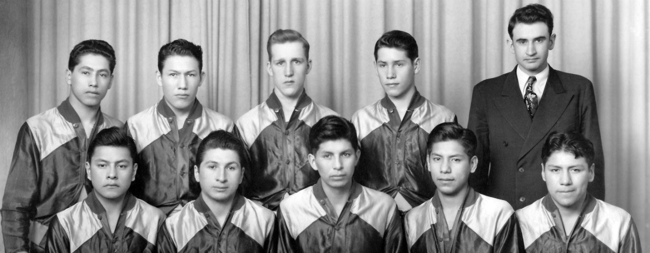 Elbowoods basketball team of 1942