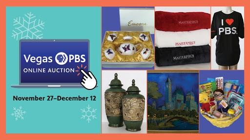 Vegas PBS Online Holiday Auction
