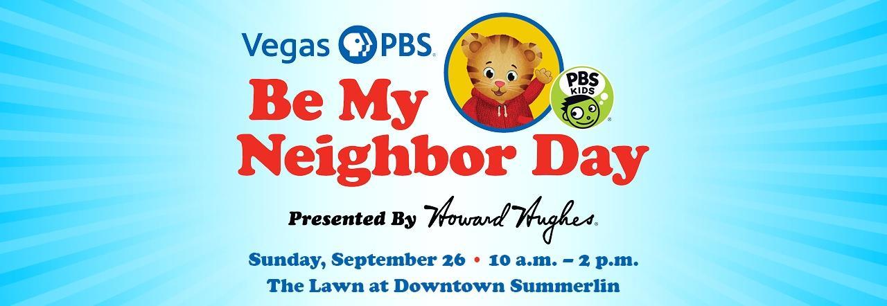 Vegas PBS Be My Neighbor Day