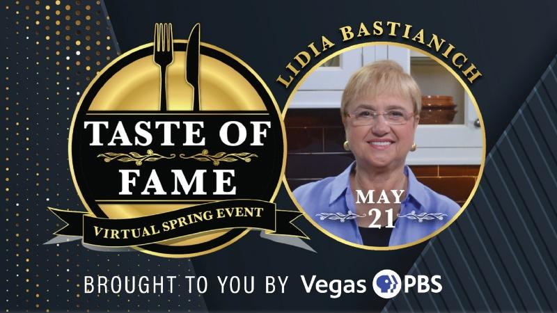 TASTE OF FAME | Virtual Cooking Event with Lidia Bastianich